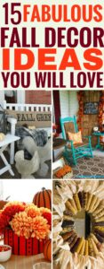 These fabulous fall decor ideas are perfect for sprucing up your autumn decor. I'm so glad I found those ideas, now my home decor will be amazing this fall! I'm pinning this!