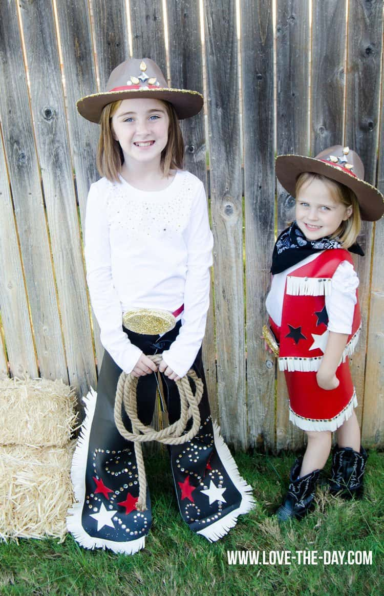 Chaps Skirt Vest Hat and a belt buckle are the best combination for a kids Halloween costume. Kids can dress up like a Rodeo Queen and can work wonders ...  sc 1 st  Meraadi & Top Halloween Costumes For Kids - Meraadi
