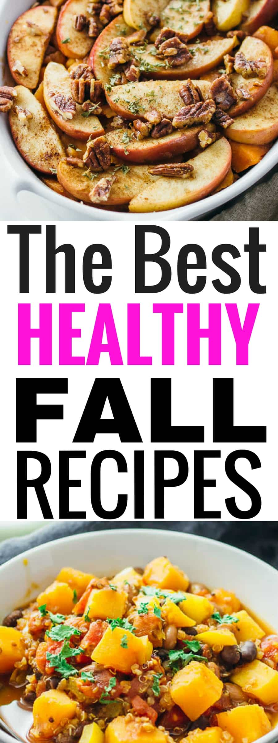 These healthy fall recipes taste amazing and will help you stay on track with all your health goals