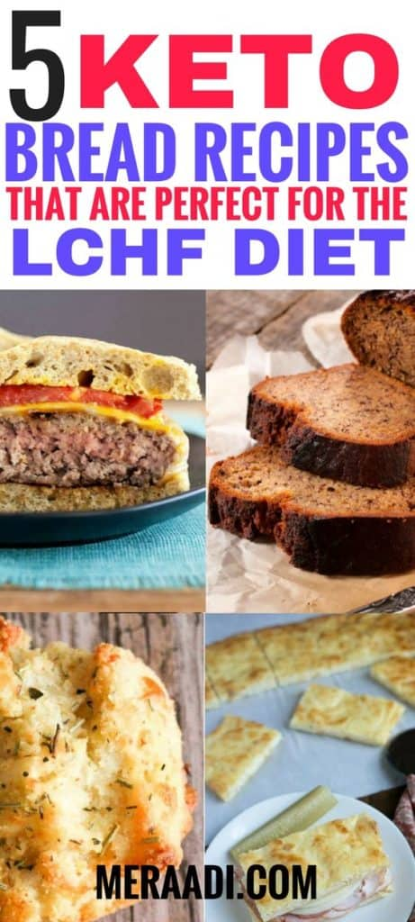 keto bread recipes you must try if you're on the keto diet. These will help you come up with easy low carb breakfast deas in no time! #ketobread #breadrecipes #lowcarb #keto #ketodiet #ketogenicdiet