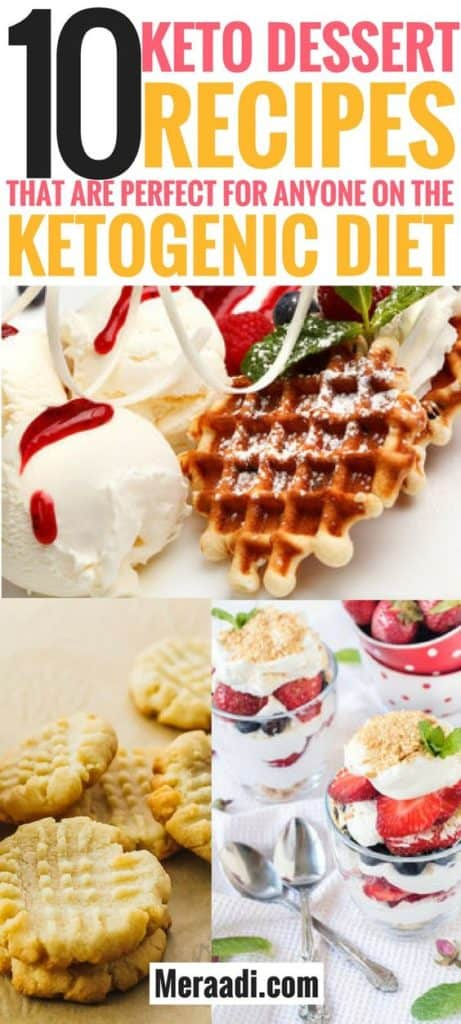 These keto dessert recipes are THE BEST! I'm so glad I found these easy and delicious keto desserts to enjoy on the ketogenic diet. Now I can enjoy these 10 low carb desserts guilt free and lose weight on the keto diet! Definitely pinning this for later! #ketorecipes #lowcarb #ketodiet #keto #desserts #dessertrecipes