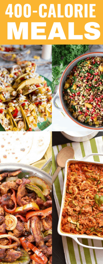 These 400 calorie meals are perfect for healping me to lose weight and lean out this new year.