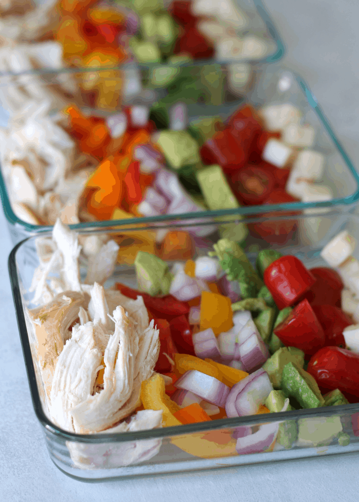 ketogenic meal prep bowls