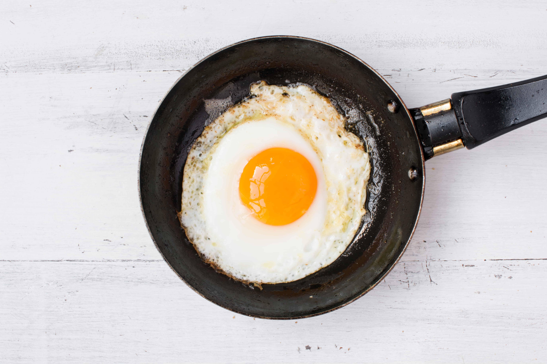 keto fired egg