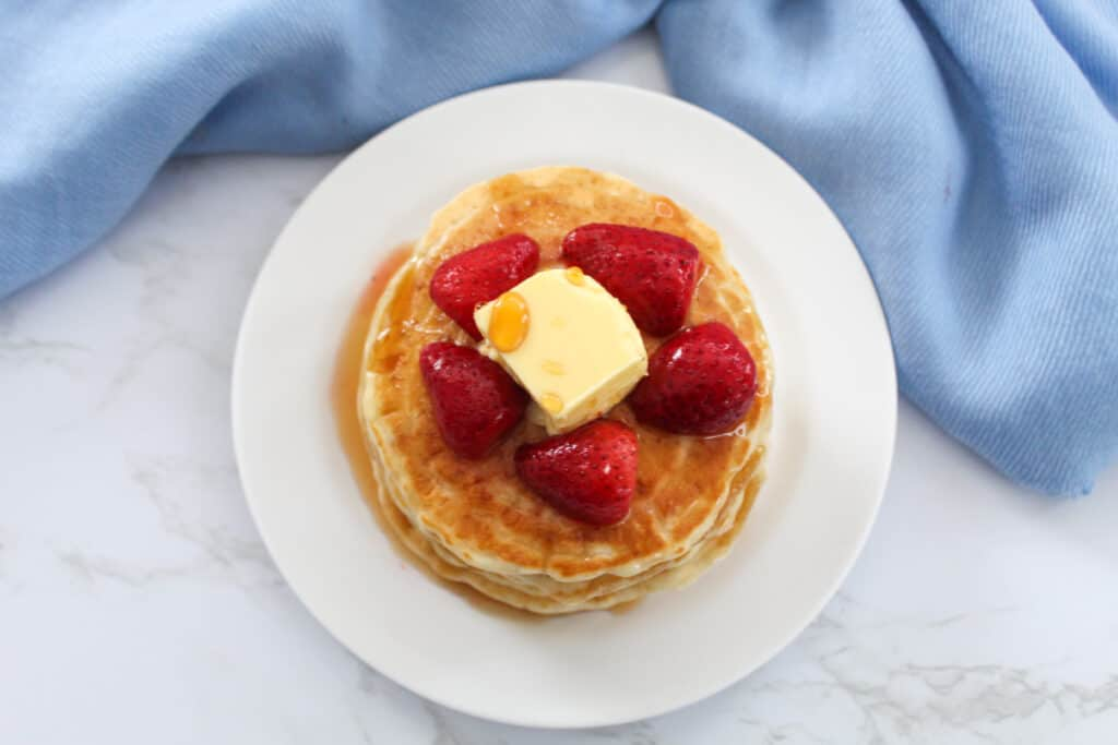 pancakes with no eggs