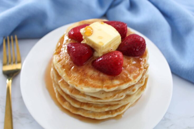 Fluffy Pancakes Without Eggs
