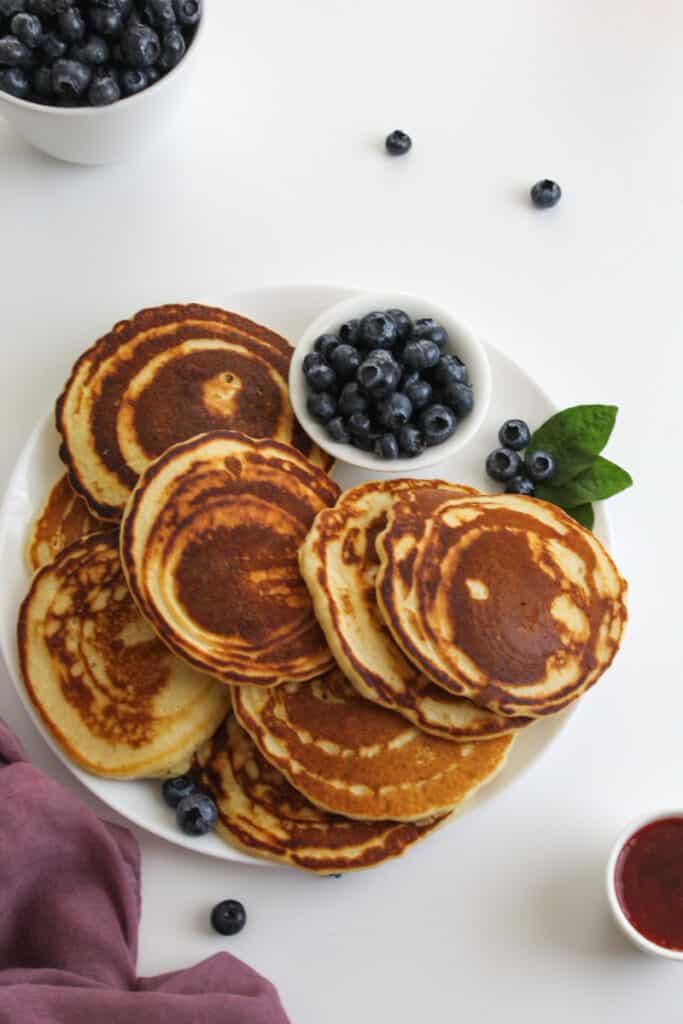 pancakes with evaporated milk