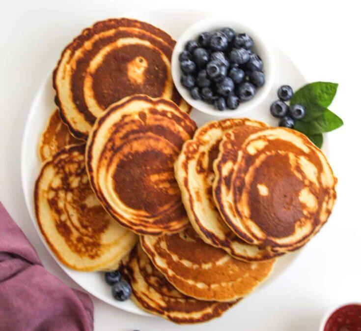 Evaporated Milk Pancakes